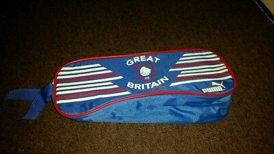 GB Rugby league PUMA Wash Large Toiletry Bag Travel Gym Vintage