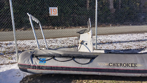 2 16' inflatable boats for sale