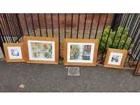 4 beautiful pictures from the Sheldon gallery in newtonards £55