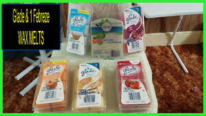 Glade & Febreze WAX MELTS < SOME ARE OPENED & SOME NEVER OPENED