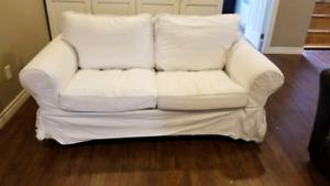 Sofa deux places - Ikea - Avec housse