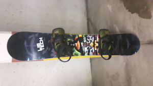 Libtech trs snowboard 159 with cartel bindings