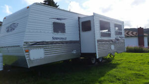 27 ft Springdale travel trailer