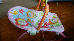 Baby to Toddler Bouncer / Rocker Fisher Price - Pink