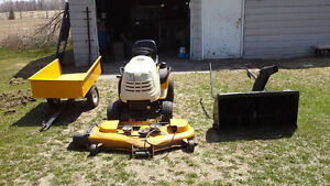 Snow blower / lawn tractor