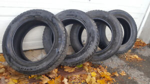 4 Winter Tires, 2 season of use - Price negotiable