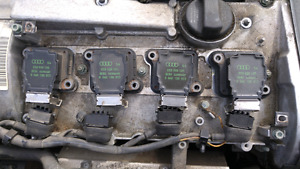 1998 Audi A4/S4 coil packs from a 1.8T engine *Low Km Car*