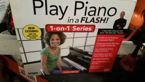 Play Piano in a flash lessons on disk