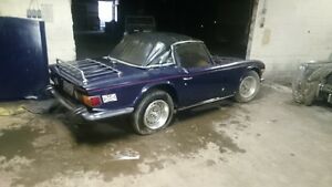 1974 TR6 Project Car