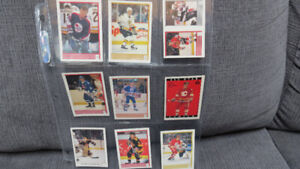 1989 O-Pee-Chee Nhl mini cards and stickers