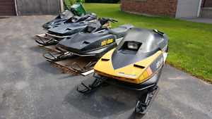 Selling Skidoo Blizzard lot. No more space.