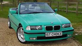 1998 BMW 3 SERIES 323I M SPORT STYLED CONVERTIBLE SIMPLY STUNNING AND UN