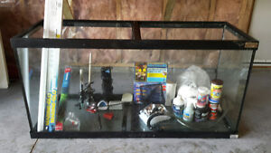 90 Gallon Fish tank with numerous accessories. Great starter kit