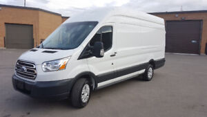 2018 Ford Transit 250 High Roof Extended!!!