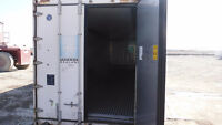 40' Steel & INSULATED CONTAINERS REEFER FREEZER!