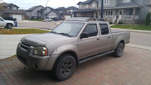 2003 Nissan Frontier XE V6 Crew Cab Pickup Truck