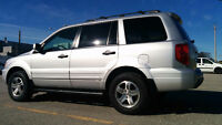 Excellent Condition 2005 Honda Pilot + Winter Tires on rims