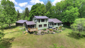 COUNTRY DREAM HOME ON ALMOST 65 ACRES - BANCROFT - ONTARIO