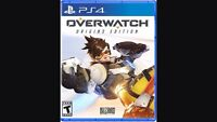 WANTED PS4 Overwatch game je besoin