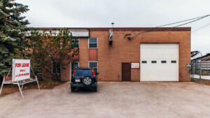 Central Location-Industrial Warehse Bay W Secured Yard For Lease