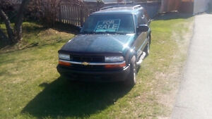 2005 Chevrolet Blazer Coupe (2 door)