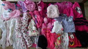 Vêtements bébé/enfant, fille, 6-12 mois, 4 saisons