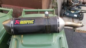 Cbr500r akapovic exhaust