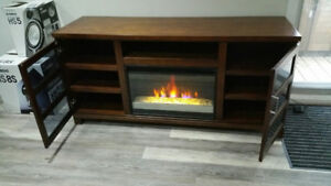 Fireplace Entertainment TV Media Stand - CHEAP!