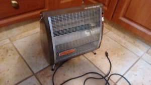 Vintage General Electric heater - Made in Canada