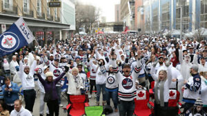4 Whiteout Street Party tickets for today (Game 5)
