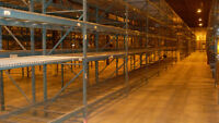 500 sections of used Racking/ Racking usage