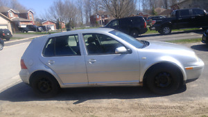 03 VW Golf For Sale As Is