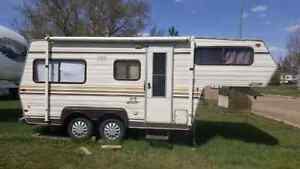 1986 travelaire 20 foot 5th wheel