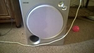 SONY ( powered subwoofer)