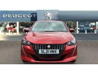 2021 Peugeot 208 1.2 PureTech 100 Allure Premium 5dr Petrol Hatchback Hatchback