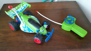 """Toy Story """"RC"""" the car with Remote Control Works by Thinkway Toy"""