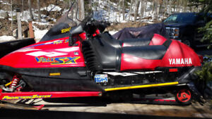 His and Her Sleds **  2-1997 Yamaha SX700 Triple Snow Machines