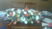 Beautifull Large Flowers Center Piece...