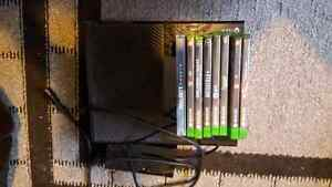 Xbox One 500gb w/ 2 Controllers and games