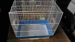 Bird cage with accessories $10