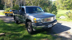 2002 GMC Sierra 2500HD 4x4