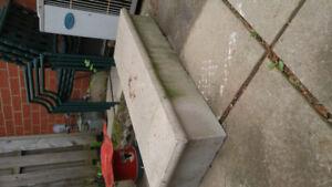 patio step