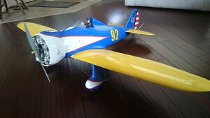 boeing p-26 peashooter, large scale 60 size RC plane