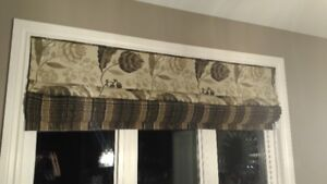2 Window fabric coverings