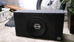12'inch sub in sub box