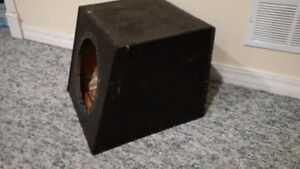 Bass box for 10 inch SUB