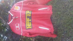 brand new ferrari leather jacket