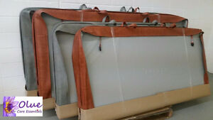 "Hot tub Covers (New/Not Used)/82.5""/84""/93"" sizes_Grey & Rust"