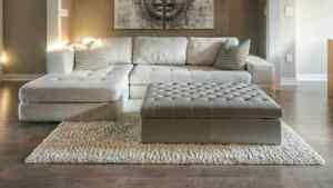 Sectional Sofa and Chaise-Only