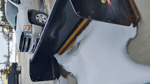 Snow Pusher, 10 foot Erskine with poly cutting edge Kitchener / Waterloo Kitchener Area image 2